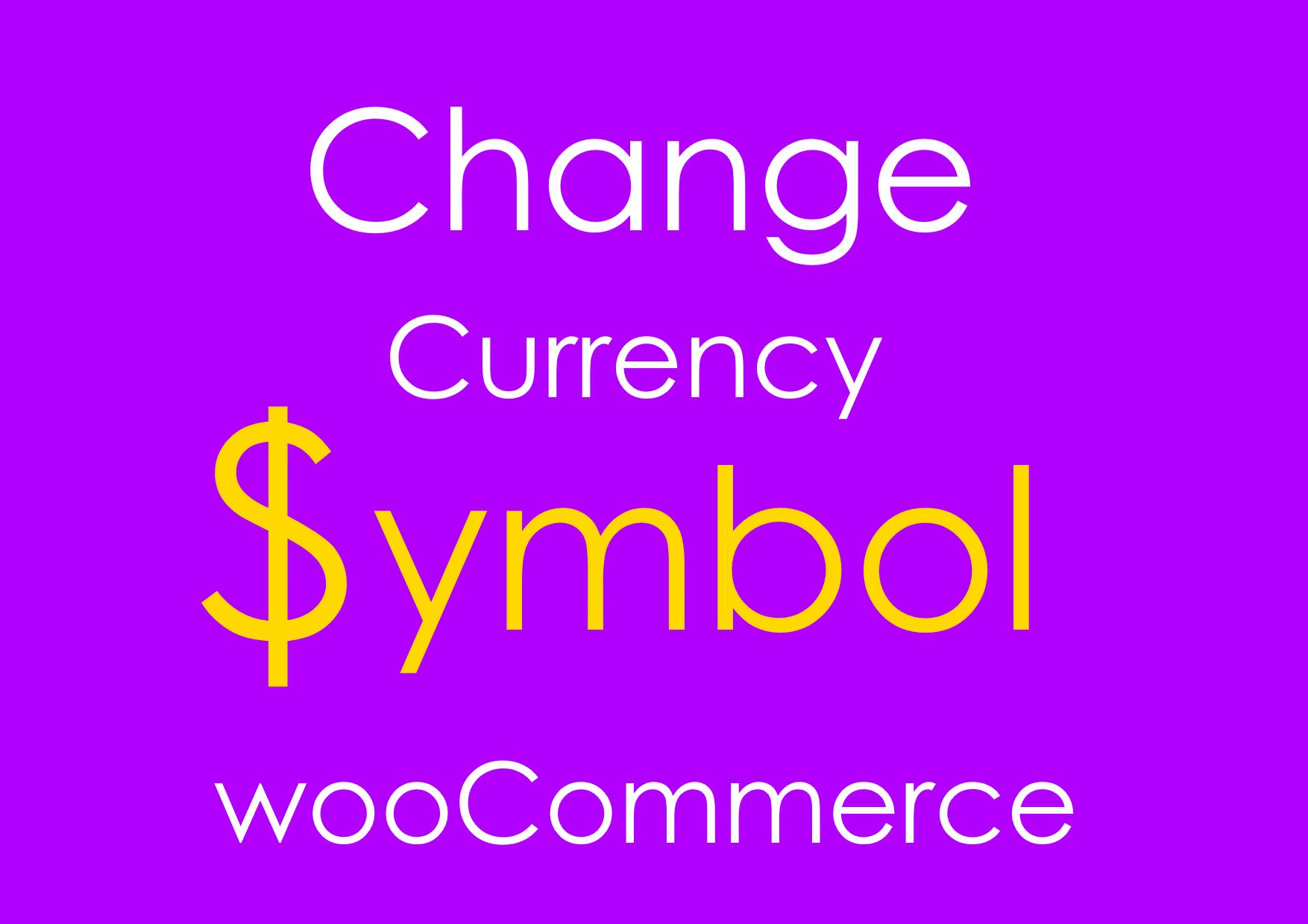 woocommerce change currency programmatically